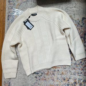 NAADAM Textured Cashmere Crewneck Sweater